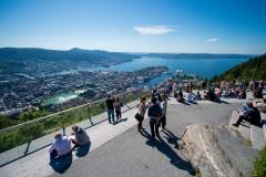 Mount-floyen-in-Bergen